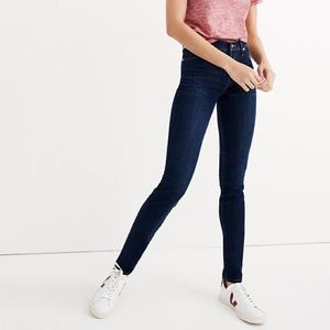 """Madewell 9"""" High-Rise Skinny Jeans Larkspur Wash!"""